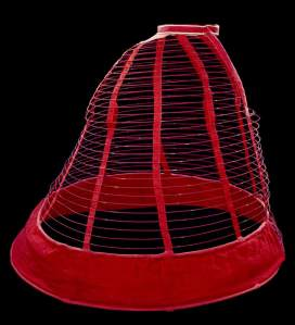 Crinoline cage, 1860. Victoria and Albert Museum.
