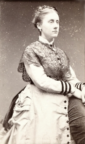Victorine Meurent, c. 1865, from an album belonging to Édouard Manet (BNF)