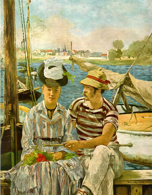 Manet, Argenteuil, 1875