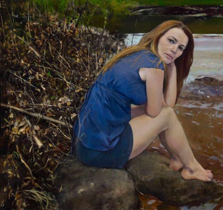 By her lily white hand Julyan Davis